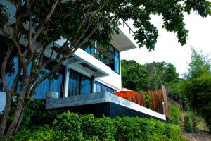 Villa De Kestrel, Koh Tao Villa, Frontview